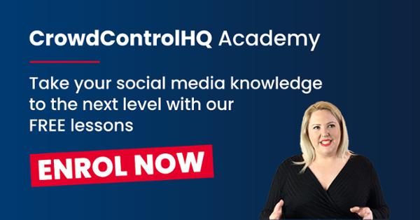 CrowdControlHQ Academy, enrol now