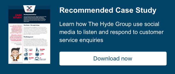 Case Study: Learn how Hyde Housing Group improve customer experience via social  media