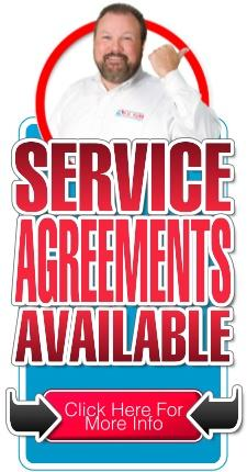 HVAC Service Agreements Available, as well as Electrical and Plumbing Service Agreements