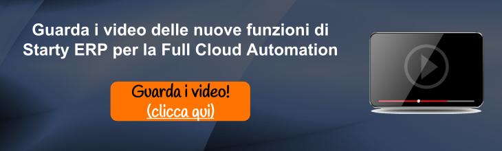 Guarda i video di Starty ERP per la Full Cloud Automation