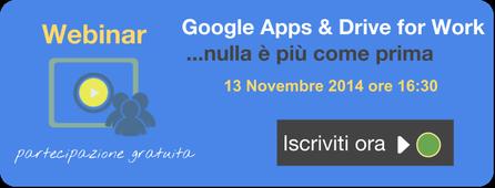 Google Apps e Drive for Work - Webinar