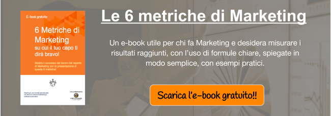 E-book Le 6 metriche del Marketing