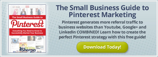 Free ebook: The Small Business Guide to Pinterest Marketing