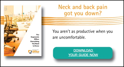 Solve neck pain with an ergonomic upgrade