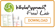 Download the WholeApproach Food List