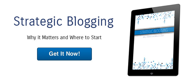 Strategic Blogging eBook Why it Matters and Where to Start