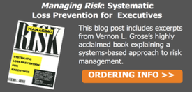 Managing Risk by Vernon Grose