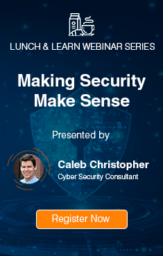 Making Security Make Sense Webinar