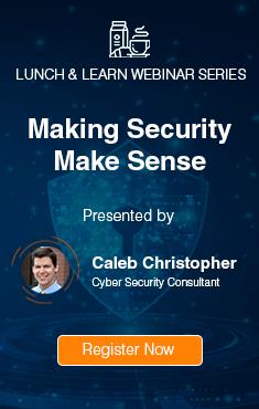 Making Security Make Sense Webinar