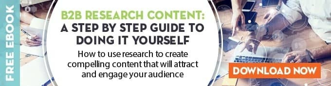 B2B Research Content: a step by step guide to doing it yourself