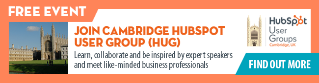 Join Cambridge HubSpot User Group