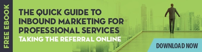 inbound professional services marketing ebook