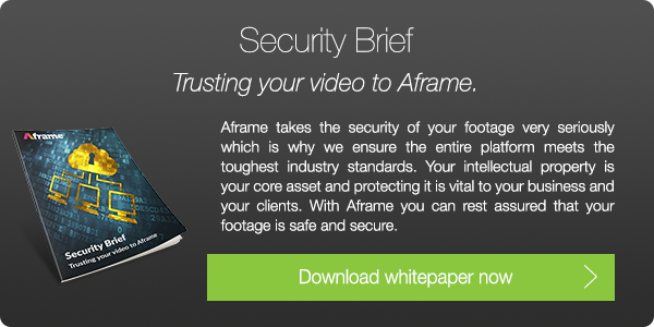 Download Aframe's Security Brief