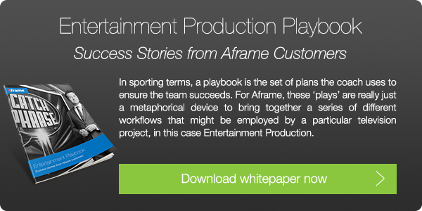 Download Aframe's Entertainment Production Playbook