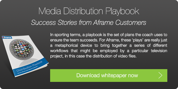 Download Aframe's Media Distribution Playbook