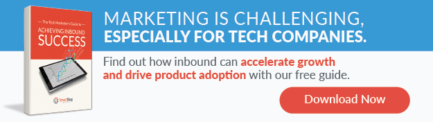 tech marketers guide to inbound success guide