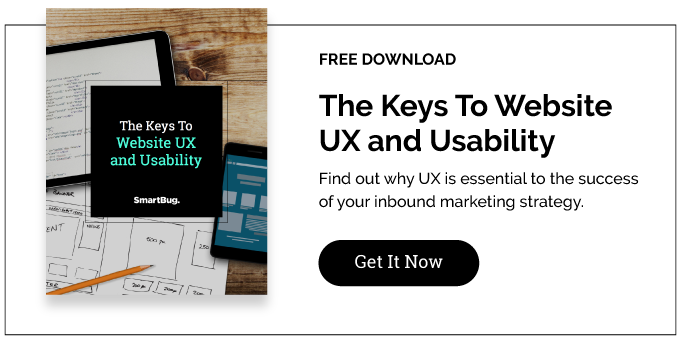 The Key to Website UX and Usability eBook