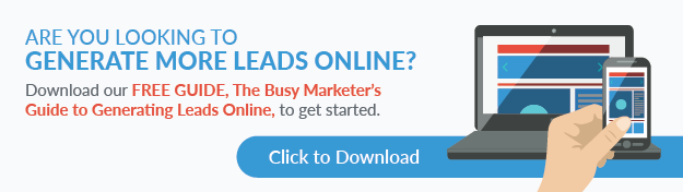 Guide to generating more leads online