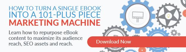 repurpose an ebook into content marketing