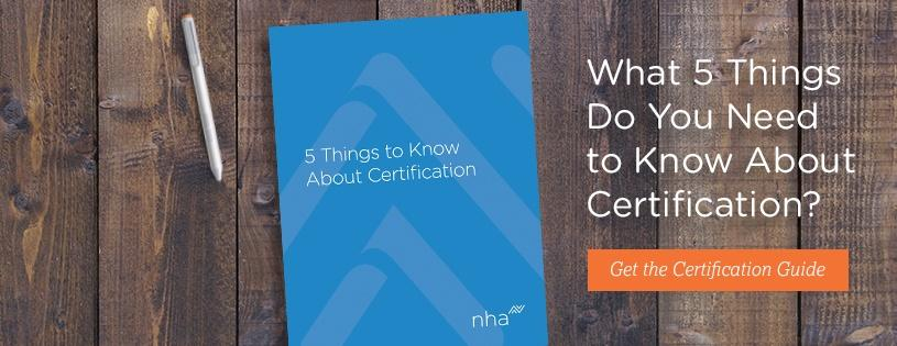 5 Things to Know About Certification Guide
