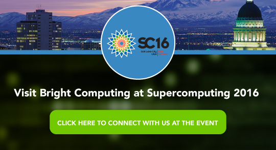 Visit Bright Computing at Supercomputing 2016