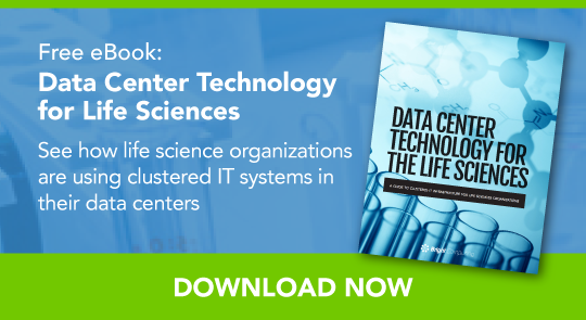life sciences data center technology