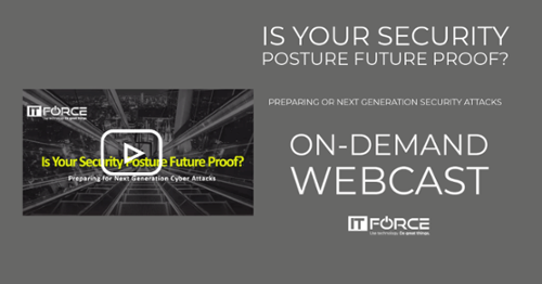 On-demand webcast - is your security posture future proof?
