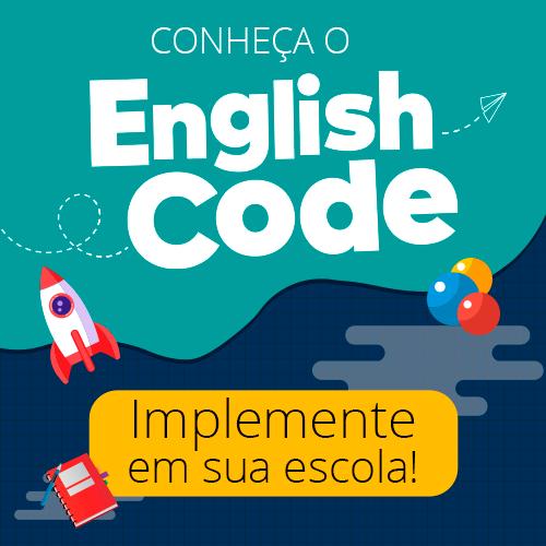 Conheça o English Code - Impelemente em sua escola!