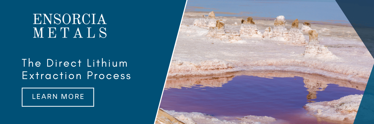 The Direct Lithium Extraction Process