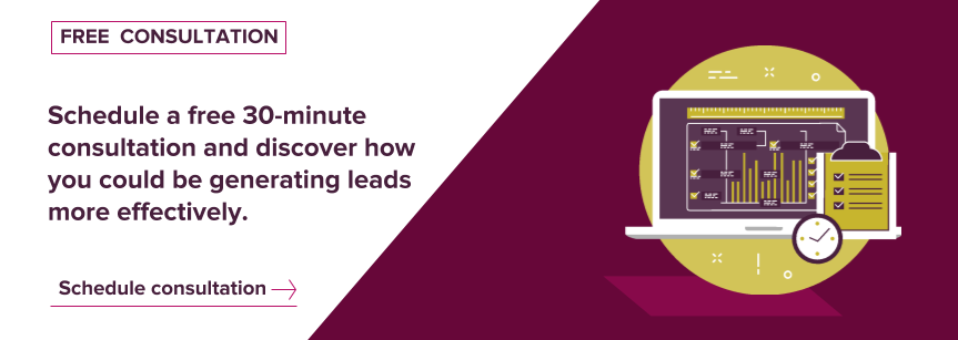 Schedule a free lead generation consultation with Axon Garside