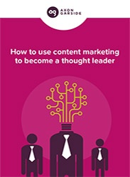 How to use content marketing to become a thought leader