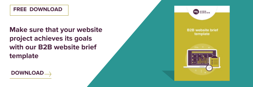 Download the B2B website brief template