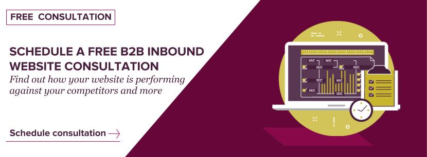 Schedule a free 30-minute B2B inbound website consultation with Axon Garside