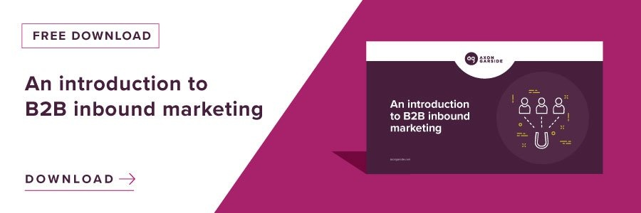 An introduction to B2B inbound marketing