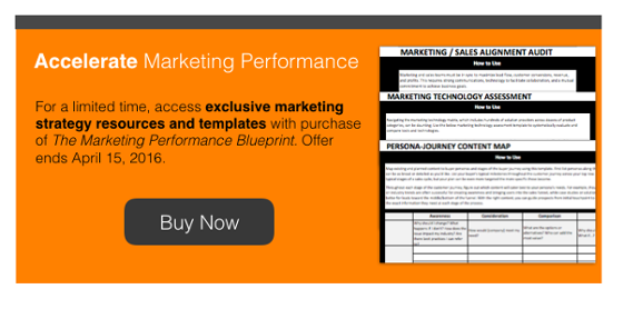 Marketing Performance Blueprint Bulk Buy