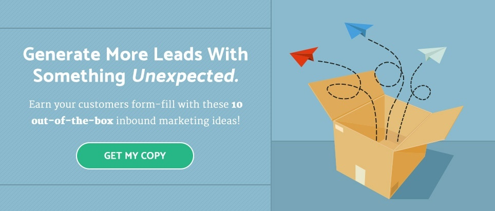 10 Out-of-the-Box Inbound Marketing Ideas eBook