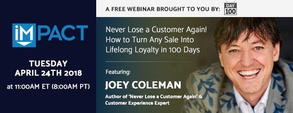 Joey Coleman Webinar