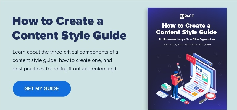 Content Style Guide How to