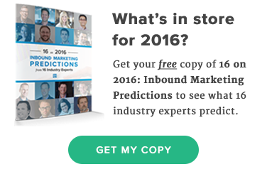 IMPACT Branding and Design - 16 on 2016: Inbound Marketing Predictions from 16 Industry Experts