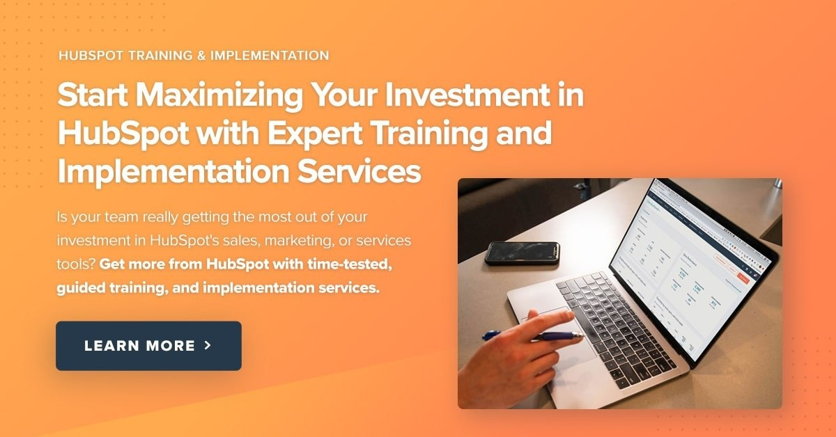 HubSpot Training & Implementation