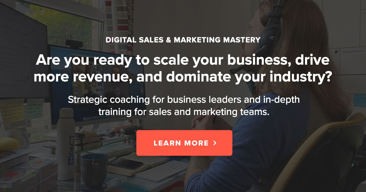 Digital Sales and Marketing Coaching