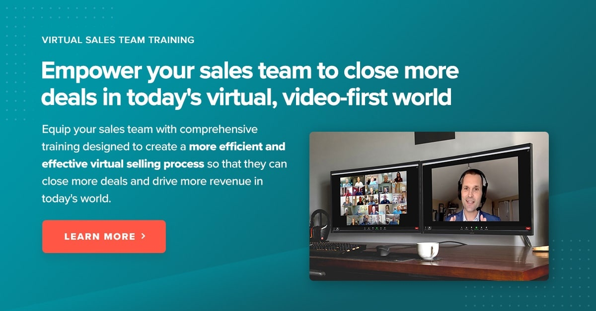 Virtual Sales Team Training