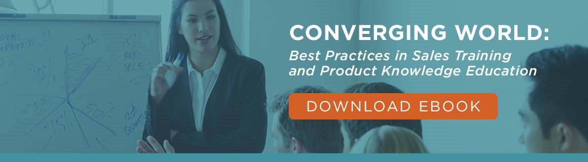 Sales Training & Product Knowledge Ebook