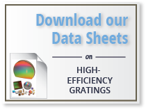 download our data sheet on aberration-corrected gratings
