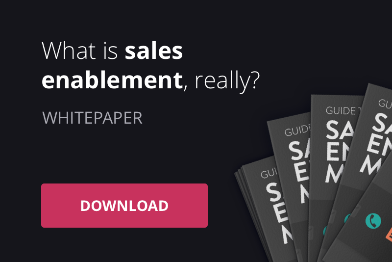 Free download: Get our guide to best practise sales enablement