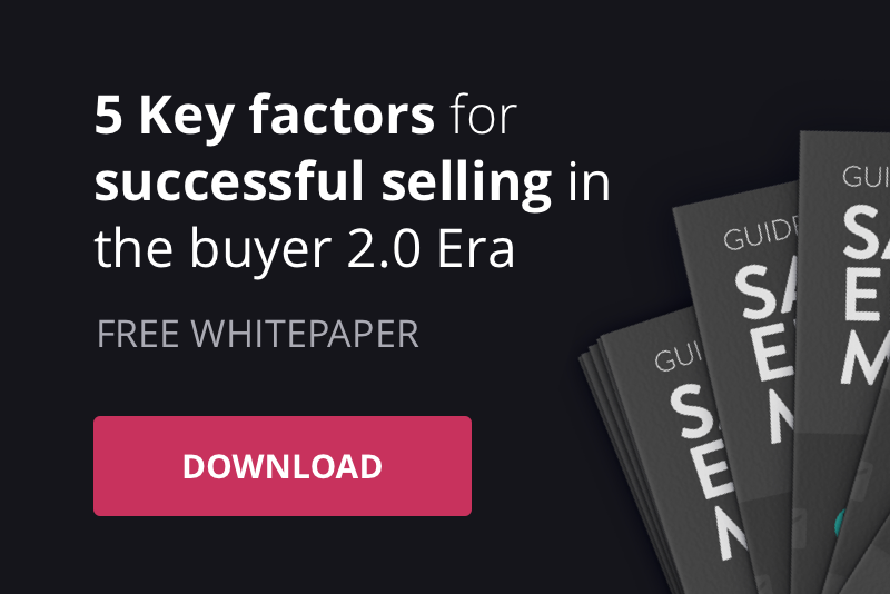 5 KEY FACTORS FOR SUCCESSFUL SELLING IN THE BUYER 2.0 ERA
