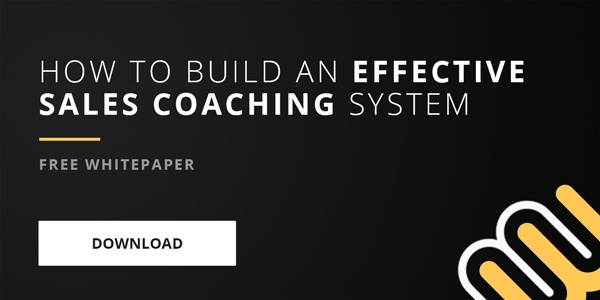 Free whitepaper: How to build an effective sales coaching system