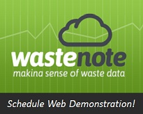 Waste data software