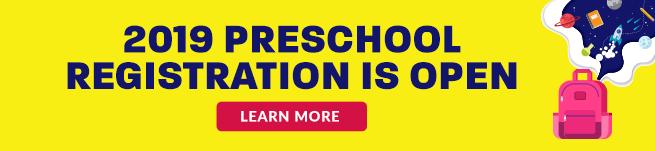 Preschool registration is now open