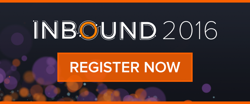 Click here to register for INBOUND 2016
